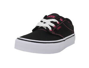 44a39c8831 VANS Atwood Black Canvas Lace Up Missy Sneaker Junior Kid Youth ...