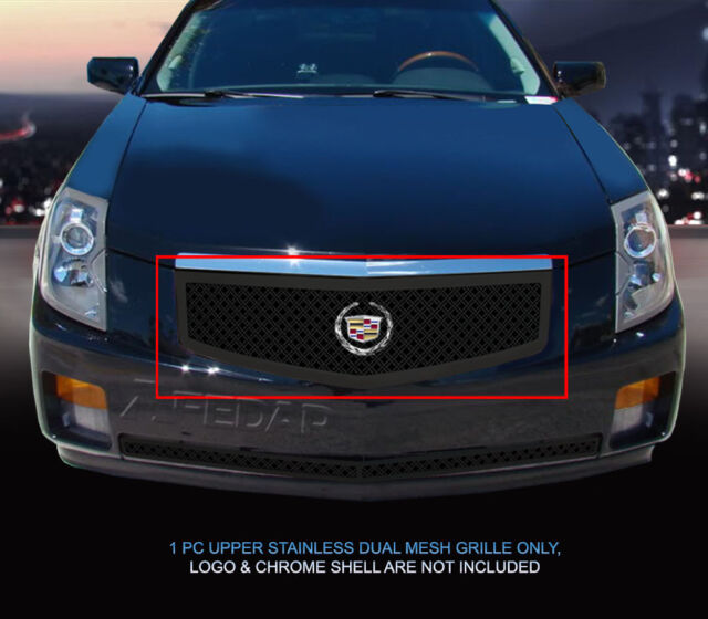 Dual Weave Mesh Grille Insert For Cadillac CTS 2003 2004