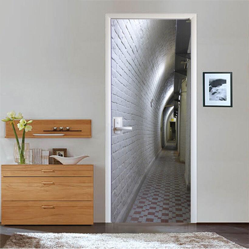 3D Korridor 724 724 724 Tür Wandmalerei Wandaufkleber Aufkleber AJ WALLPAPER DE Kyra | Qualifizierte Herstellung  | Creative  |  4ae479