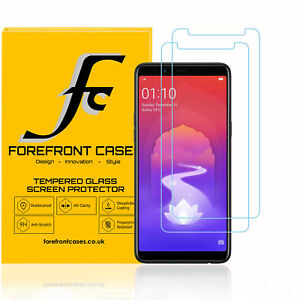 newest 113c3 1d05a Details about Oppo Realme 1 / Oppo A79 Tempered Glass Screen Protector [2  PACK] Guard Cover HD