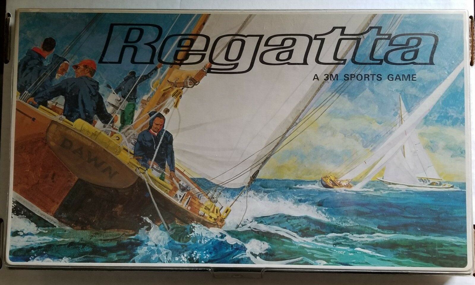 1967 Regatta A 3M Sports Sailing Yacht Race Board Game Complete