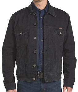 Wrangler jeansjacke schwarz
