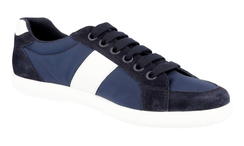 LUSSO Scarpe Prada scarpe da ginnastica 4e2845 BLU BIANCO NUOVO NUOVO NUOVO NEW 6,5 40,5 41 | Alta qualità ed economia  80e1d9