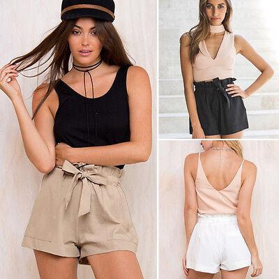 Fashion Women Ladies Summer HOT Pants Casual Shorts High Waist Short Beach Sexy