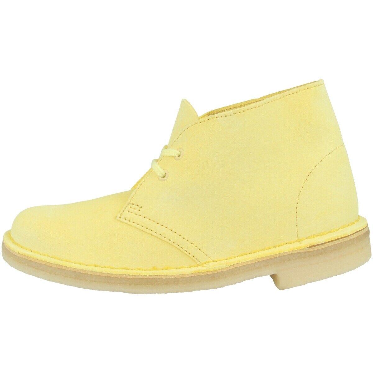 Clarks Desert Stiefel damen Schuhe Damen Stiefel Stiefel Schnürschuhe pale 26138827
