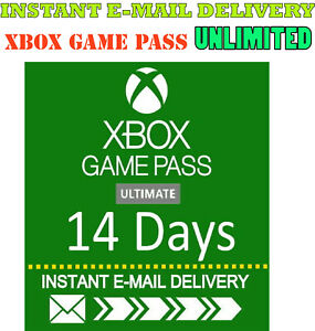 Xbox-Live-Gold-Xbox-Game-PASS-Ultimate-14-Day-2-Weeks-INSTANT-DELIVERY