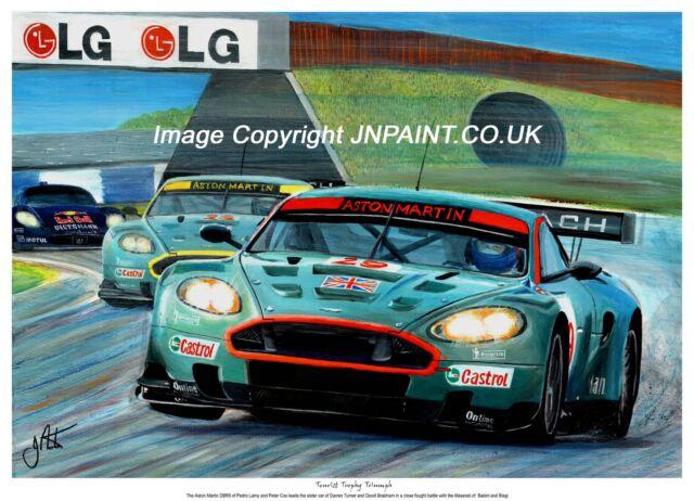 Aston Martin DB9 CARS2480 Art Print Poster A4 A3 A2 A1