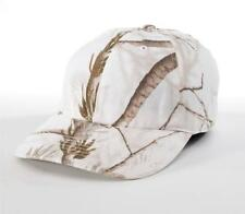 Realtree AP Snow Richardson Camo Hunting Hat Camouflage White Cap 840-ASPN