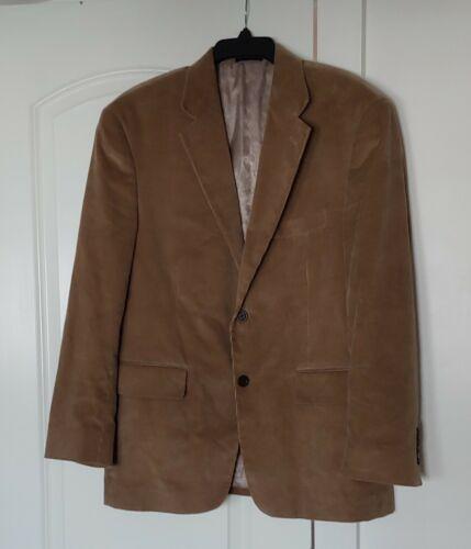 Stafford Essentials Corduroy Sports Jacket Brown M