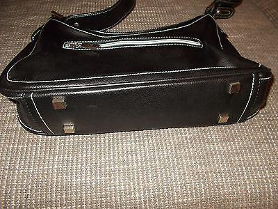 DANIEL HECHTER Damen Handtasche Schultertasche schwarz Tasche Bag 35 x 18x 7,5cm