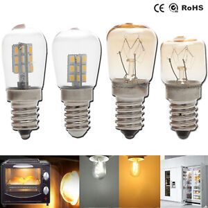 Details About Oven Light Led Freezer Fridge Bulb E12 E14 3w 4w 15w 25w High Temperature Lamps