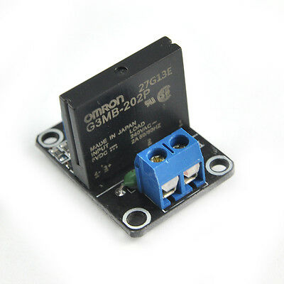 5V 1 Channel Solid State Relay Module with Resistive Fuse OMRON SSR G3MB-202P