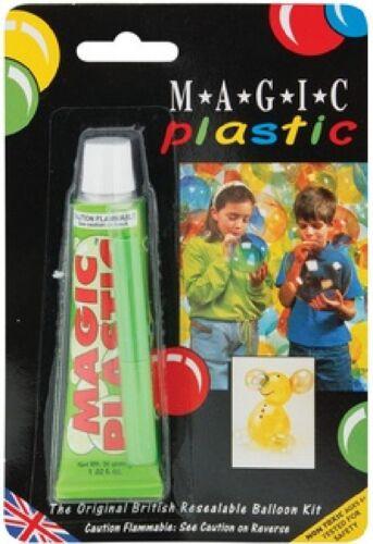 Magic Plastic Balloon Modelling Inflating Plastic Bubble Sculpting Toy Fun 15026