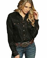 Cruel Girl Rodeo Western Arena Fit Shirt Cowgirl Xs
