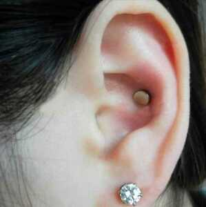 Image Is Loading Auricular Magnetic Therapy Crystal Rhinestone Earring For Slimming