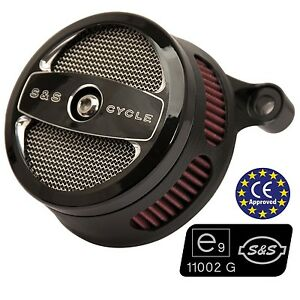 Filtro-Aire-Homologado-Para-Softail-Dyna-S-amp-S-Stealth-Air-Cleaner-ECE-Approved