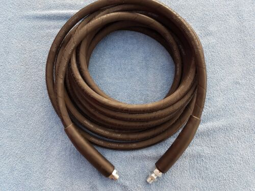 20METER 2 WIRE 400BAR 3//8 DN10 JETWASH HOSE GENIUNE /& NOT A CHEAP HYDRAULIC HOSE