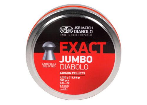 JSB exacte JUMBO Heavy Diabolo Straton RS EXPRESS .22 Pellet Sample Pack