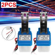 2pcs Quality As 10 Car On Off Street Photocell Light Switch Photo Control Sensor