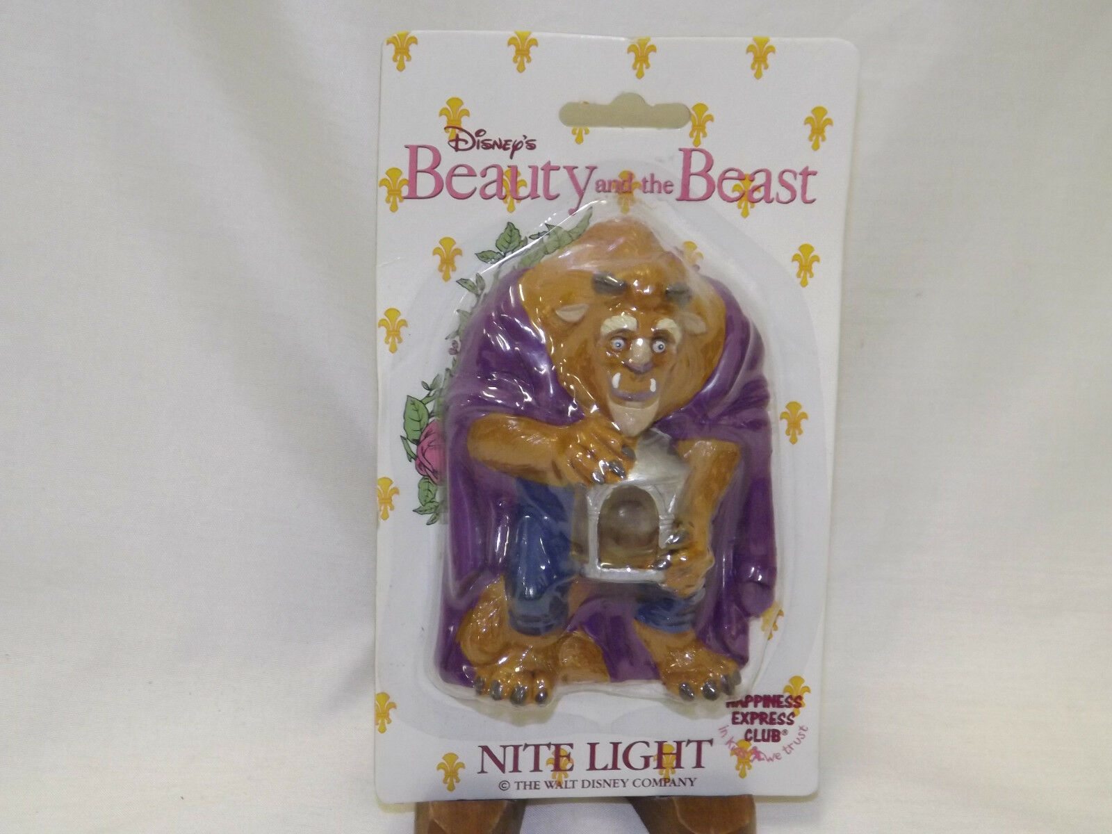 Buy Vintage Disney S 1992 Beauty The Beast Lumiere Nite Light