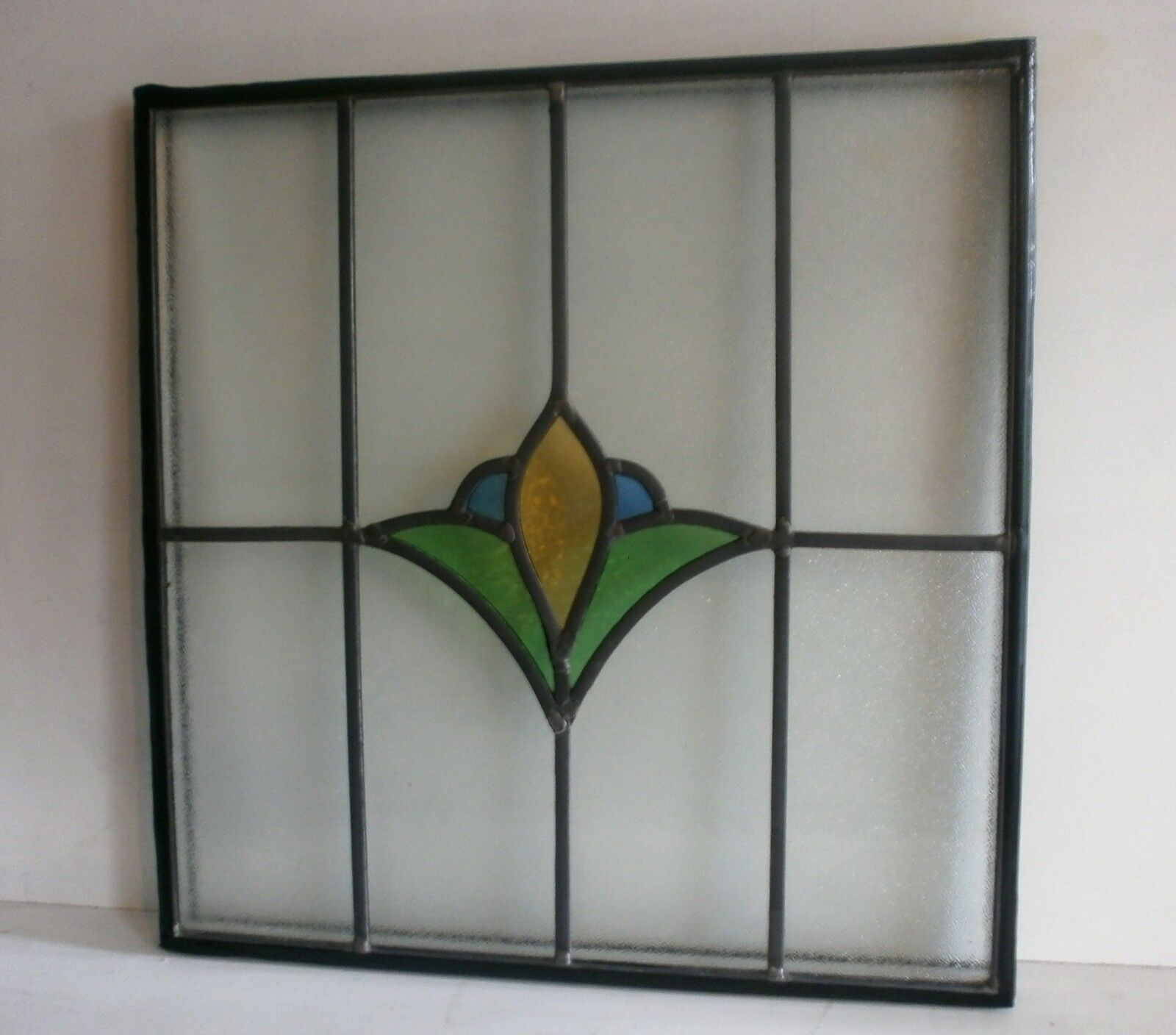 Double glazed leaded stained glass