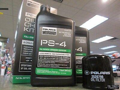 Pure Polaris Oil Change Kit Sportsman 570 2014 2018 Sportsman 570 Oil Change Ebay