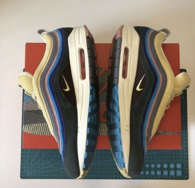 Nike Air Max 1/97 VF SW Sean Wotherspoon Chaussures de Basket pour ...