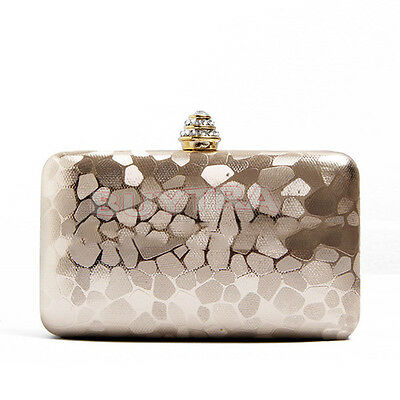 New Women Evening Clutch Purse Bag Wedding Party Handbag Bags With Chain USEF