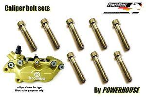 Ducati-748-S-1997-1998-Stainless-joint-bolt-set-Brembo-front-brake-calipers