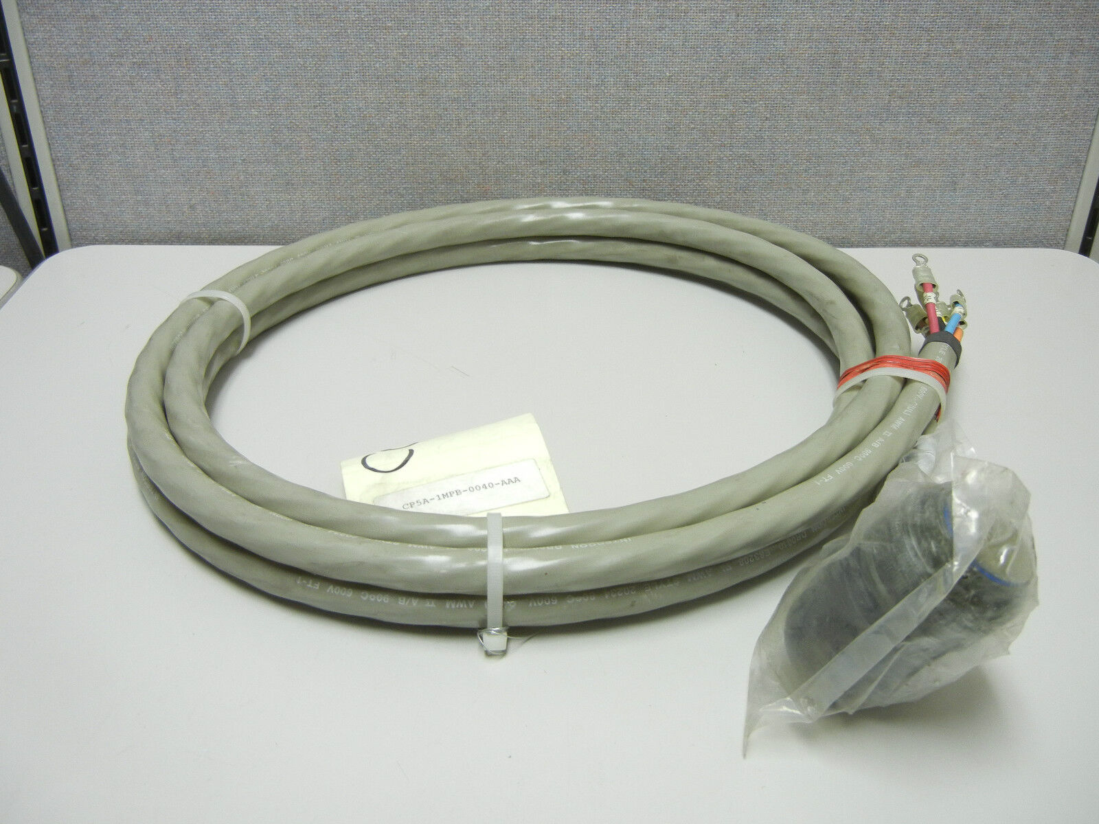 INTERCON CP5A-1MPB-0040-AAA NEW ROBOTIC CONTROL CABLE ASSEMBLY CP5A1MPB0040AAA