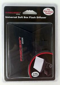 Precision Design Universal Soft Box Flash Diffuser  Fits Shoe-Mount Flashes