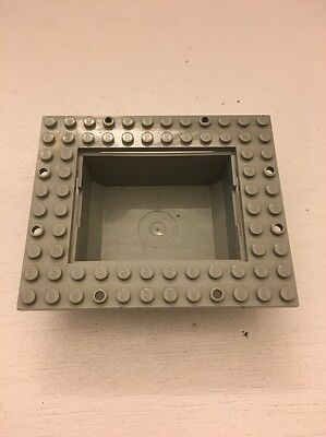 Boat Cargo Loading Plate 10x12 with 6x8 Tub 4030 4020 4021 ship Lego Container