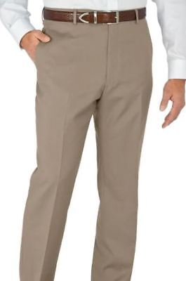 Paul Fredrick Mens Wool Gabardine Pant