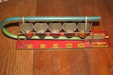 """Antique 1940's Pails O Fun Marble Game Durable Toy Co. - 12"""" Long - Spring Works"""
