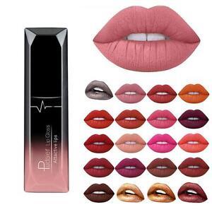 21-Colores-Barras-de-labios-Mate-Nude-Liquido-Pintalabios-Labial-Lip-Maquillaje