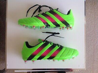 ADIDAS ACE 16.1 Leather Scarpe Da Calcio UK 8.5 EUR 42.23 US 9 Predator CAMPIONE BN   eBay