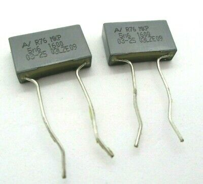Mkp capacitor 1841 470 pf 1600 v dc 2 pieces 0,47 nf