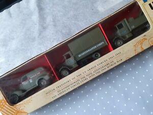 Boite Commemorative 1941-42/1991 de 3 vehicules militaires