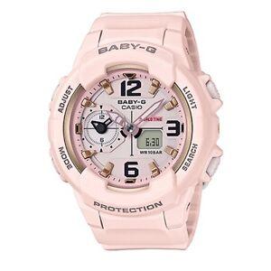 Casio Baby-G * BGA230SC-4B Dual Time Pastel Pink Anadigi COD PayPal