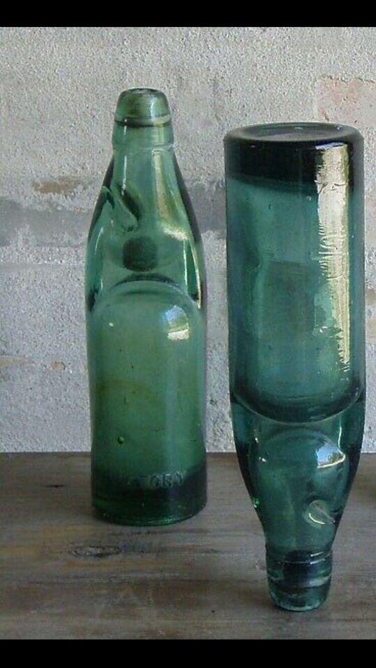 Antik Kugleflaske, 1872 Hiram Codd
