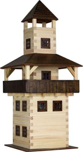 Walachia Holzbausatz Turm Tower W28 Hobby Kit Holz-Bausatz 1:32 ab 8 Jahr