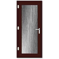Rosewood Fully Glazed Upvc Door / Cherrywood Upvc Back Door / High Security