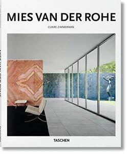 Mies-van-der-Rohe-by-Claire-Zimmerman-NEW-Book-Hardcover-FREE-amp-Fast-Deliver
