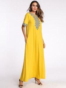 Women New Style a-line Vintage Style Plus Size Party Wear Maxi Long ...
