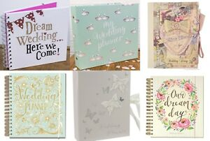 Image Is Loading Wedding Planner Book Diary Journal Organiser Engagement Gift