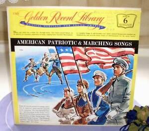 LP: American Patriotic & Marching Songs (US-LP 1959) - Weinstadt, Deutschland - LP: American Patriotic & Marching Songs (US-LP 1959) - Weinstadt, Deutschland