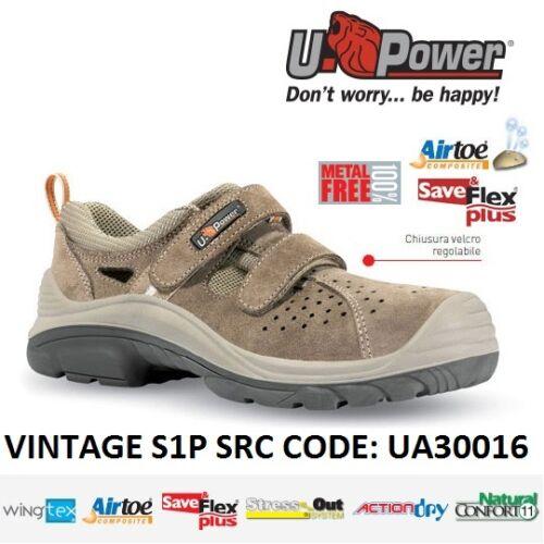 Vintage Antinfortunistica Src U power Upower S1p Lavoro Ua30016 Scarpe rdtQhCs