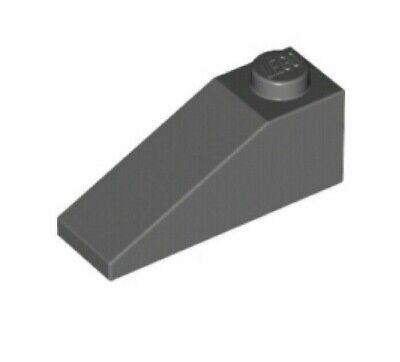 6 x LEGO 4286 Brique Pente gris dark grey Roof Brick 1x3 Slope 33° NEUF NEW