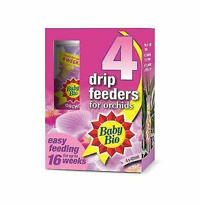 Baby Bio Orchid Drip Feeders Ready To Use Plant Feed 4 X 40 Ml For Sale Online Ebay