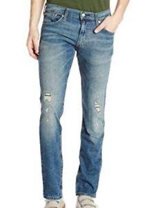 Blue Levi/'s 511 65504 Skinny Fit Men/'s Jeans